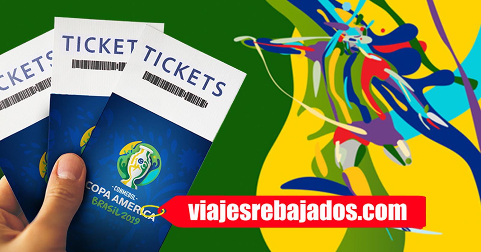 Entradas Copa América Brasil 2019