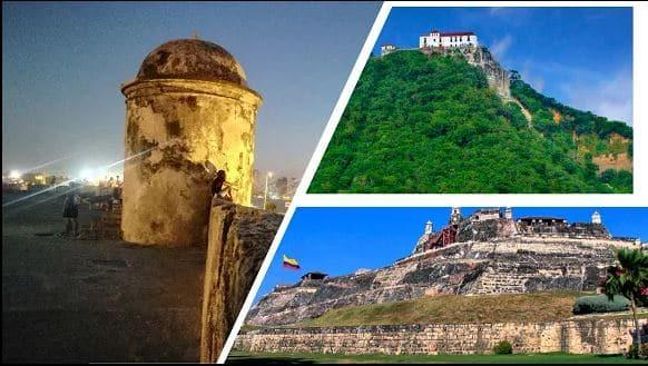 Murallas y castillo Cartagena
