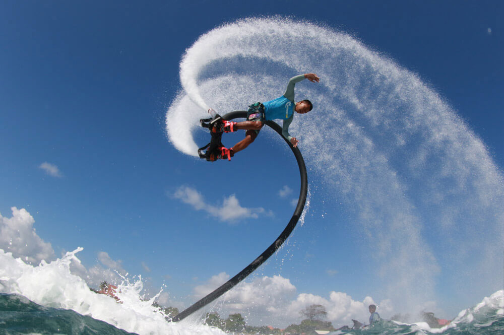 flyboard san andres tour